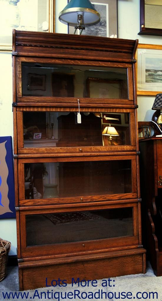 Best 25+ Barrister bookcase ideas on Pinterest | Vintage bookcase, Antique bookcase and Oak ...
