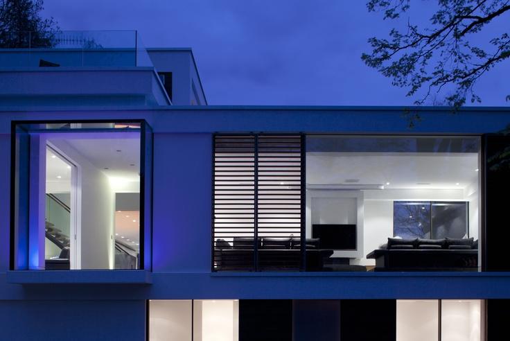 White Lodge at night #architecture