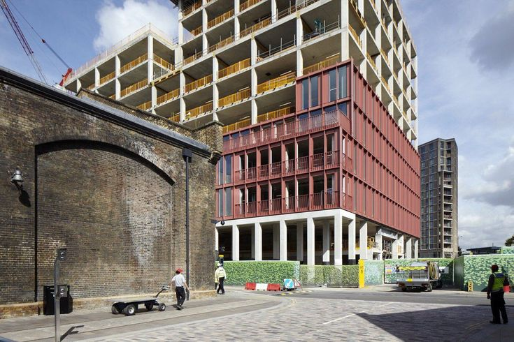 duggan morris . king's cross office building . london (1)