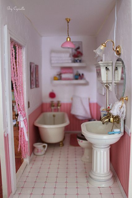 miniature bathroom