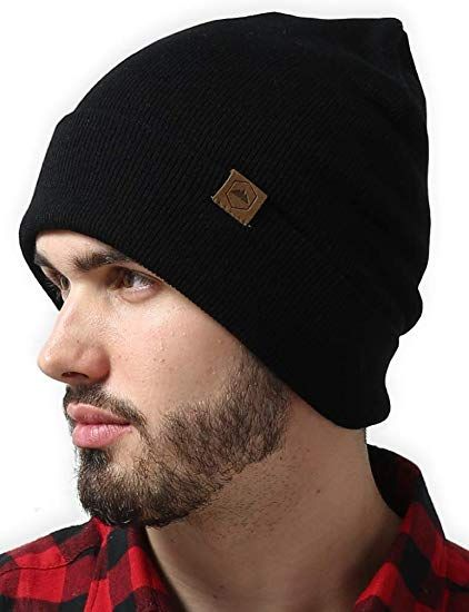 b86f859b9 Tough Headwear Cuff Beanie Watch Cap - Warm, Stretchy & Soft Knit ...