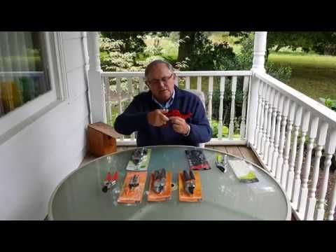 Unboxing Review of Pruners Video #1 of 3 #youtube #prunersreview #pruners