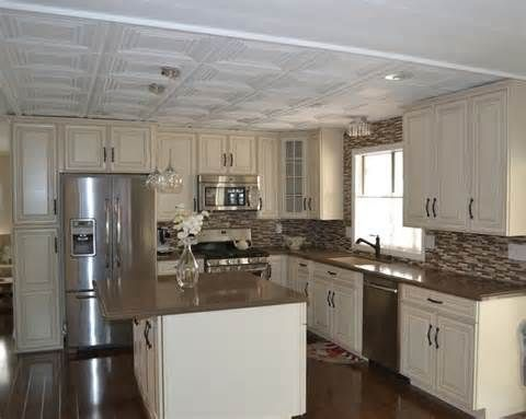Great Ideas For Remodeling A Mobile Home | Single Wide, Kitchens And  Remodeling Ideas