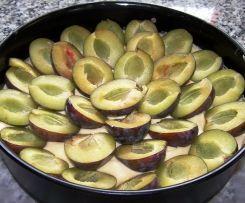 Zwetschgen-Eierlikör-Kuchen