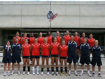 Selección Absoluta preparando el Europeo RFEVB: Real Federación Española de Voleibol