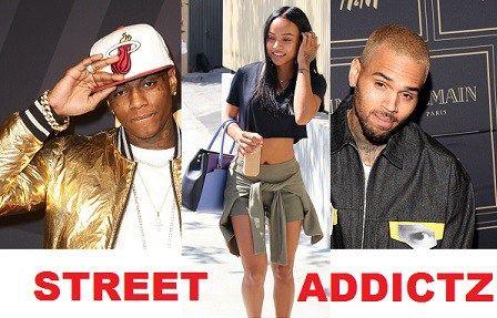 Chris Brown And Soulja Boy Beef Over Karreuche Tran.