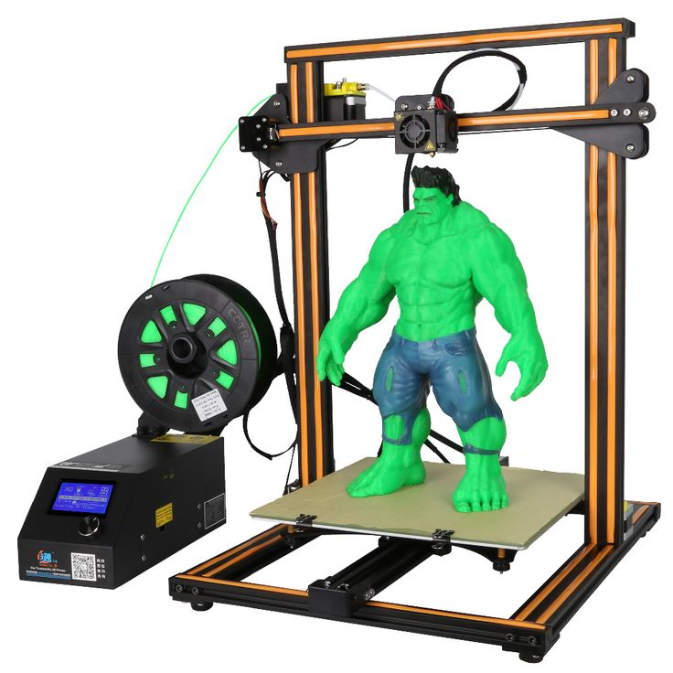 CR-10s 3D Printer Dual Z Rod,Filament Monitoring Alarm 3D printer DIY KIT Prusa i3 large Print Size Creality 3D with 200g filame