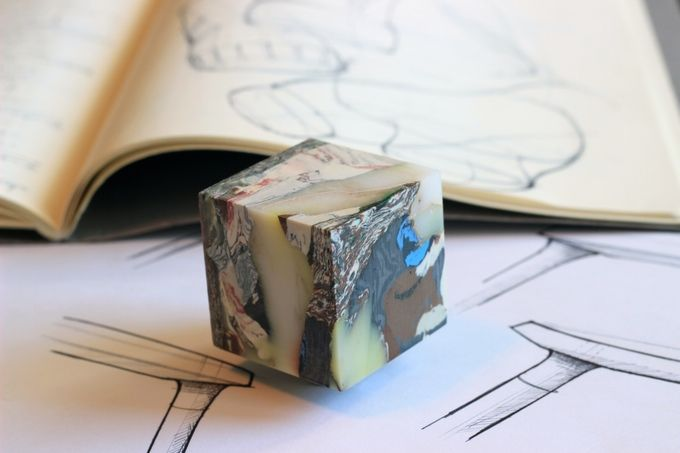 Müll - Cubes and More from Recycled Plastic Trash by Carter Zufelt — Kickstarter