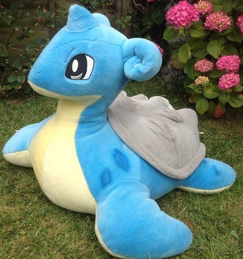 very large lapras pokemon plush