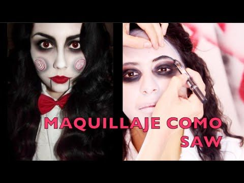 Tutorial de maquillaje para Halloween: SAW - Anastassia Sfeir - YouTube