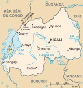 Amplasarea Rwandei