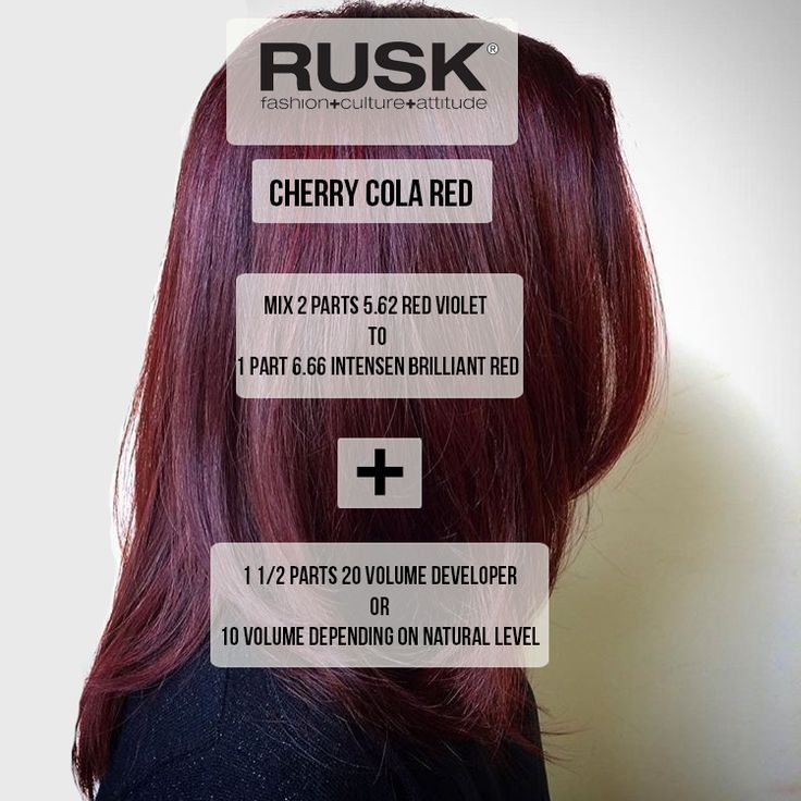Want a winter color that's subtle yet chic? Try a Cherry Cola red! #hairinspo