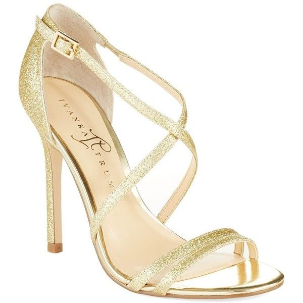 Ivanka Trump Duchess Heel ($78) ❤ liked on Polyvore featuring shoes, sandals ,