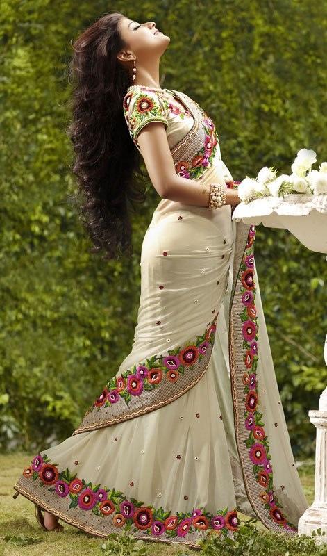 Trends in sarees!!