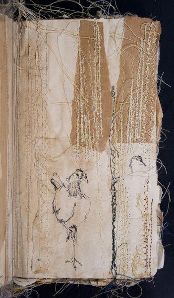 Nina Morgan sketchbook