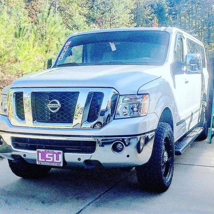 2016 Nissan Nv3500 Hd Passenger Exterior: 60 Best Nissan NV Passenger Van Images On Pinterest