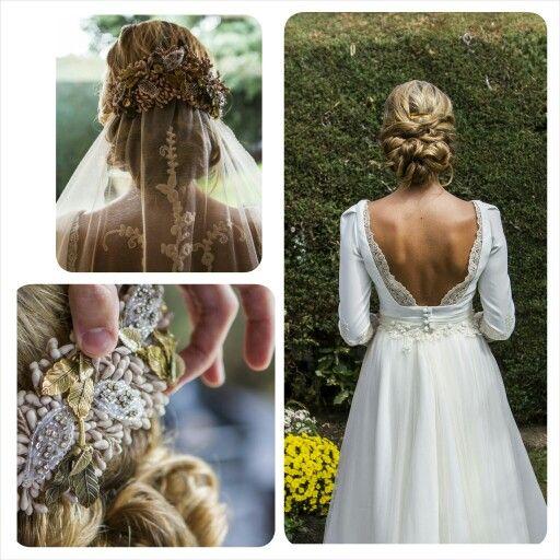 Rocío nuestra #novia Os dejamos el detalle de la #peluquería