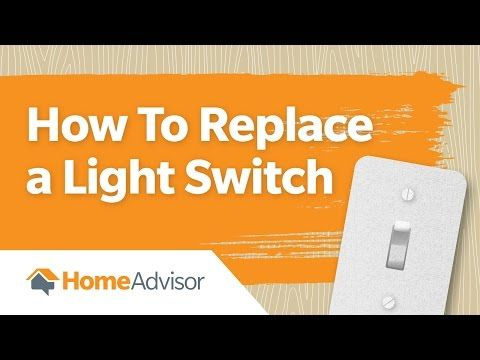 Watch this video and learn how to replace a light switch DIY. #Video #howto #DIY #lightswitch #electricaltips
