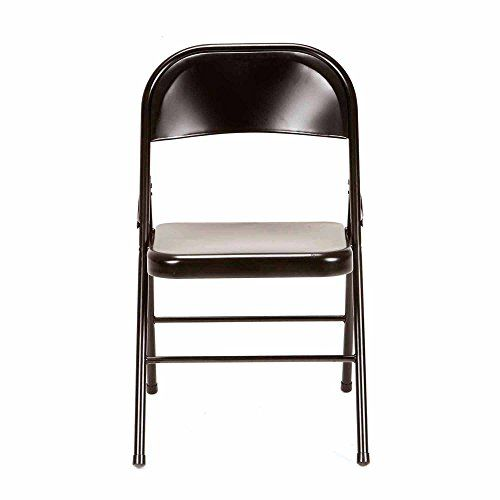 Mainstays Steel Chair Set Of 4 Multiple Colors Folding