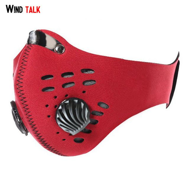 Anti Dust Training Shield With Filter Mountain Bicycle Sport Road Face Cover