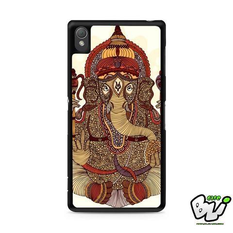 Ganesha Lord Of Success Sony Experia Z3,Z4,Z5,C3,C4,E4,M4,T3 Case,Sony Z3,Z4,Z5 MINI Compact Case