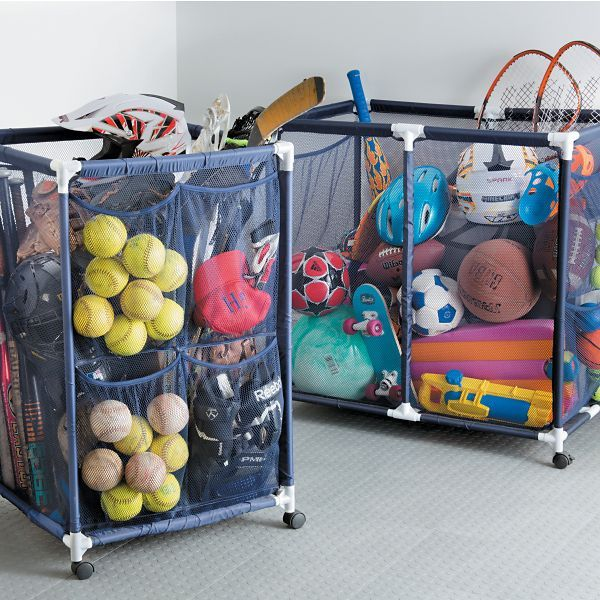 Pool Organization Ideas find this pin and more on pool ideas Pool Storage Bins