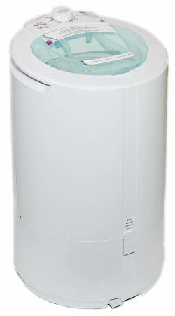 Laundry Alternative's Mega Spin Dryer is super-sized, ecologically friendly an dries clothes in 3 minutes.