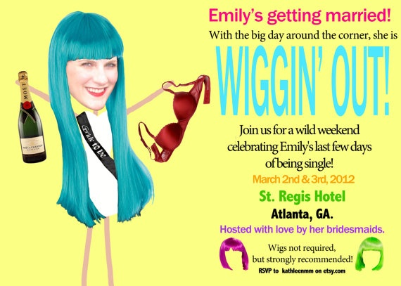 Wig Theme Party 108