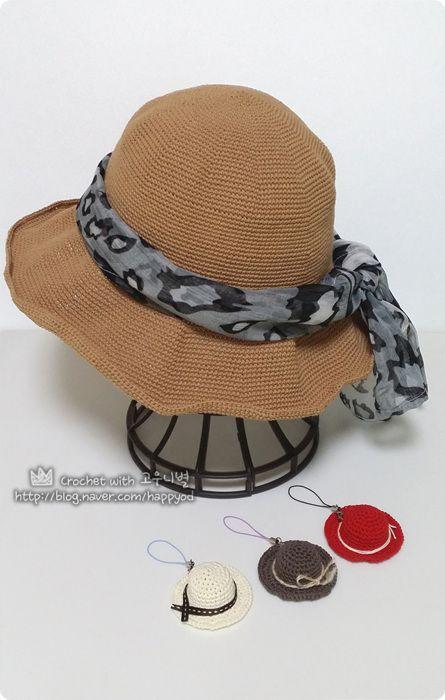 코바늘 여름모자 만들기 [원데이 클래스] #코바늘_여름모자 #Floppy #Hat #crochet #summer_hat