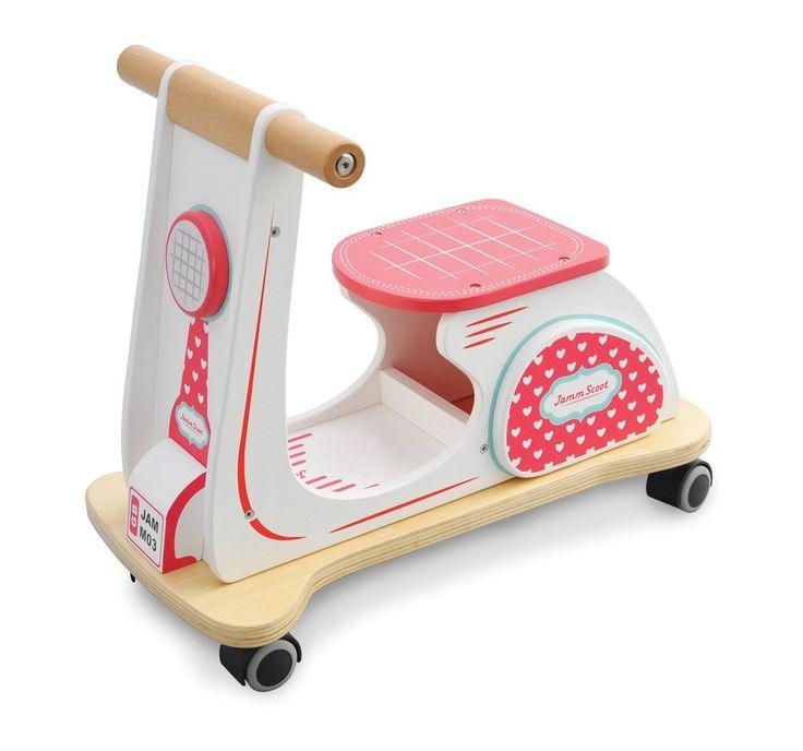 Indigo Jamm - Wooden Scooter Hearts