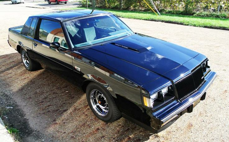 1987 Buick Grand National T-top Coupe