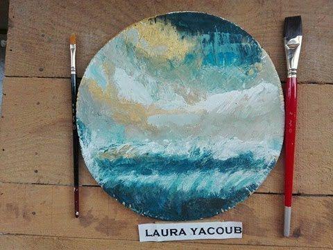 تعليم الرسم بالالوان المائية كيف ترسم منظر طبيعي بسيط جدا بلون واحد فقط تعلم الرسم رسم منظر طبيعي الوان مائية Drawings Art Painting