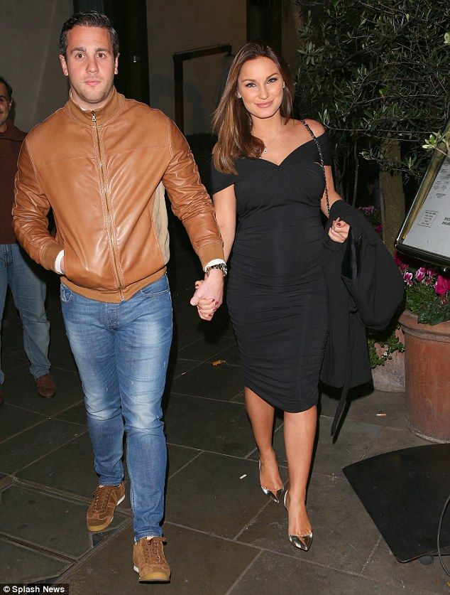 Maternity chic: The 24-year-old former TOWIE star, who recently vowed she would not let pr...