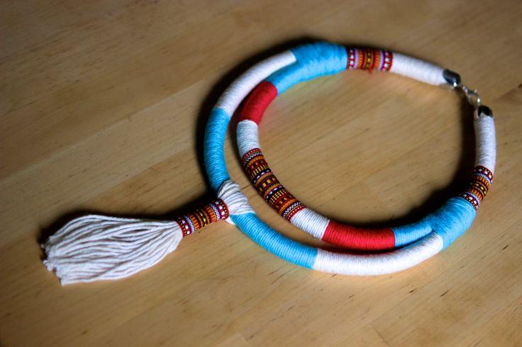 Statement necklace, tribal, boho, choker