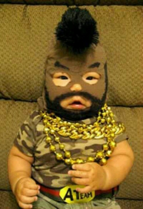 I pitty the fool!!! BEST baby boy costume EVER!!!