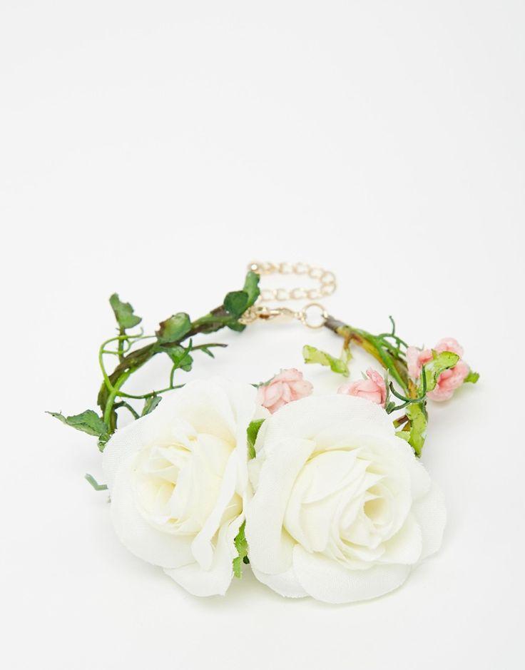 Limited Edition Wedding Flower Corsage Bracelet