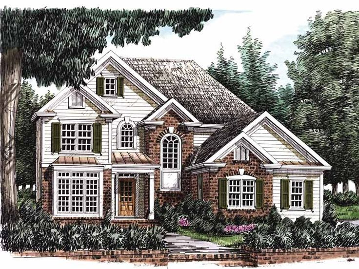 201 best house plans images on Pinterest Home plans Dream homes