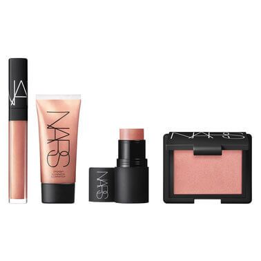 $86 NARS Orgasm, quadrupled. Get your glow well and truly on with this collection of peach-hued face must-haves in the bestselling Orgasm shade. Includes a blush, lip gloss, illuminator and multi-tasking multiple stick. <strong>Get your hands on this limited edition set - available for one day only!</strong>