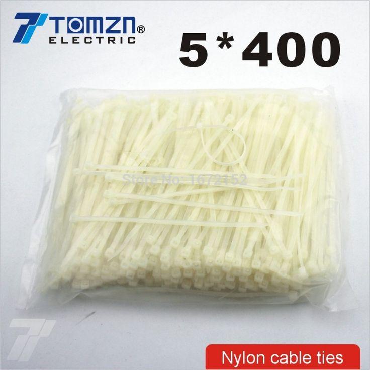Дешевое 250 шт. 5 мм * 400 мм нейлон кабельные стяжки, Купить Качество Кабельные стяжки непосредственно из китайских фирмах-поставщиках:              Пожалуйста, отметил Эта ссылка только для 5*400 Нейлон Кабельные стяжки                Изготовлена из