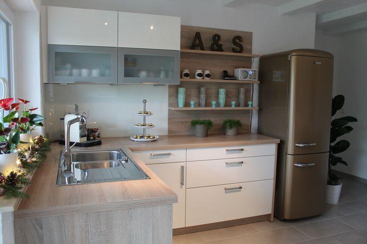 Unser Küchentraum: Kitchen-Dream, Retro fridge, IB Laursen Deco www.heissgeliebtes.blogspot.de