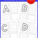 Preschool Handwriting Practice – Uppercase {free printables!}