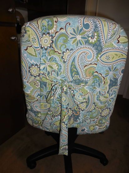 trash to treasure computer chair, crafts, entertainment rec rooms, home decor