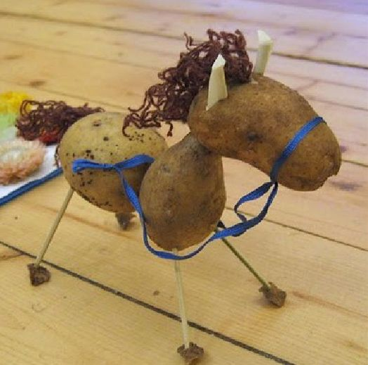 statues for picking potatoes | Potato Sculpture Competition