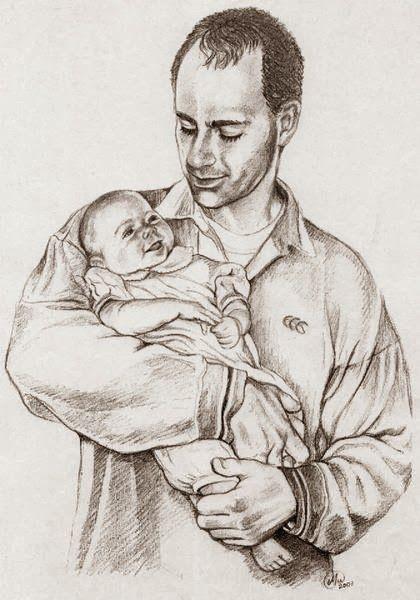 Fatherhood, graphite