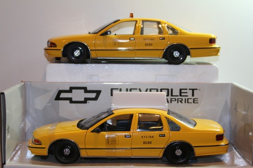 Diecast & Toy Vehicles UT MODELS Chevrolet Caprice Yellow N Y C Taxi