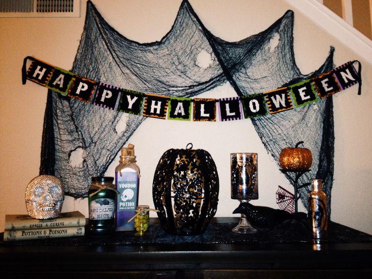 diy halloween indoor decor