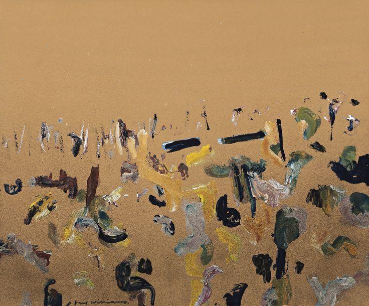 Fred Williams (Australian, 1927-1982), Lysterfield Landscape  (1966-67)