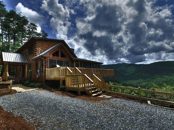 Merveilleux Blue Ridge Cabin Rental: Amazing Mountain Views, Best In Blue Ridge! Hot  Tub, Secluded, Pets Ok, Wifi