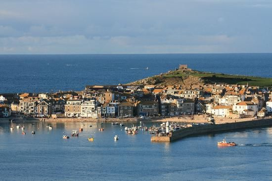 St Ives Cornwall. It looks magical from this angle.
