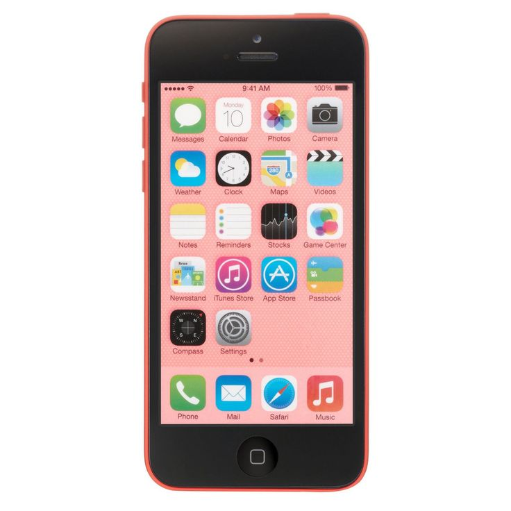 Apple iPhone 5c 32GB Unlocked GSM 4G LTE Dual-Core Certified Refurbished Phone - #MF133LL/A